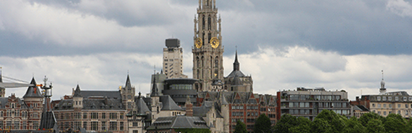 Antwerp, flights, city jet