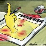 How the British media reported what happened to Charlie Hebdo