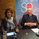 Jean-Claude Gaudin, Marseilles Mayor, comes to London to find investors