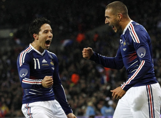 Nasri and Benzema : France's decisive duo