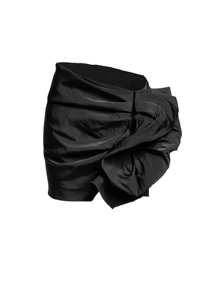 Black Ruffle Skirt £39.99