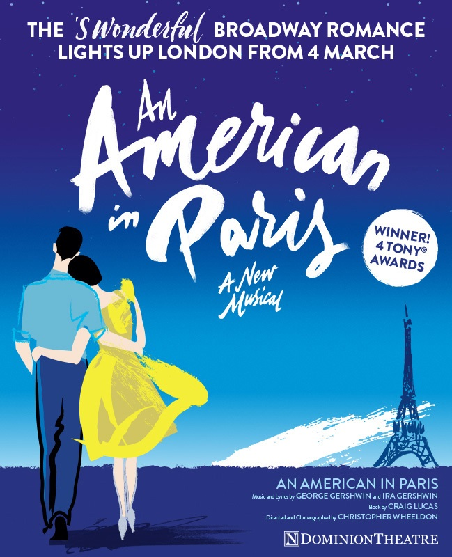 An American in Paris Musical Poster