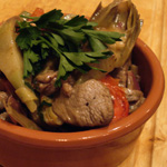 Lamb with Artichokes