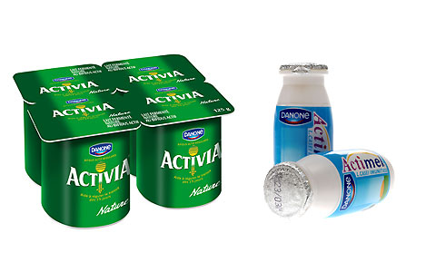 Activia and Actimel