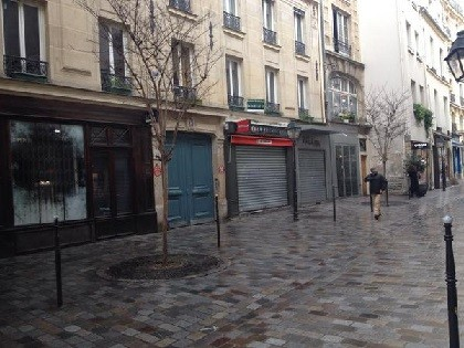 Shops closed on Sundays in Paris