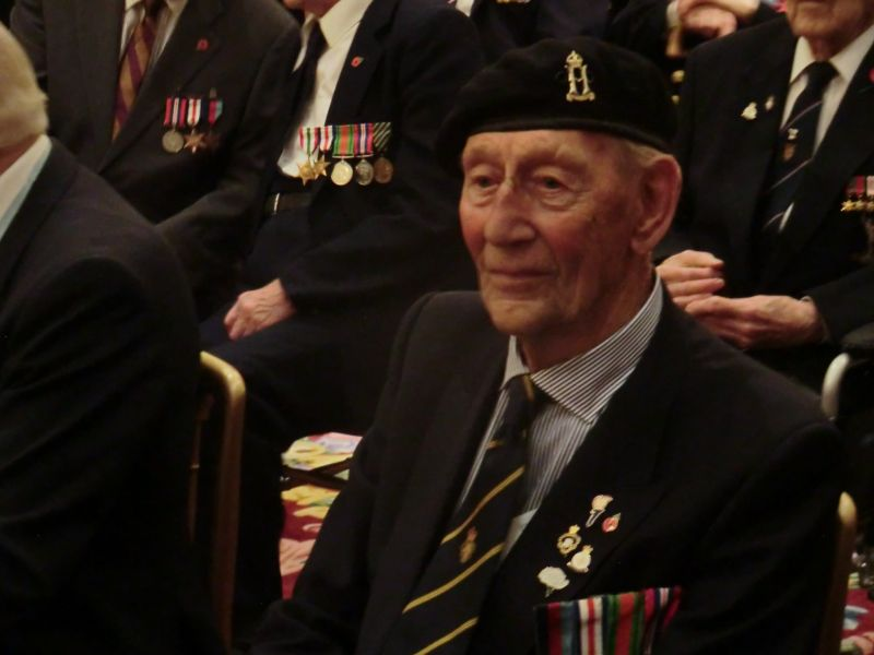 A veteran waiting for his Legion d'Honneur