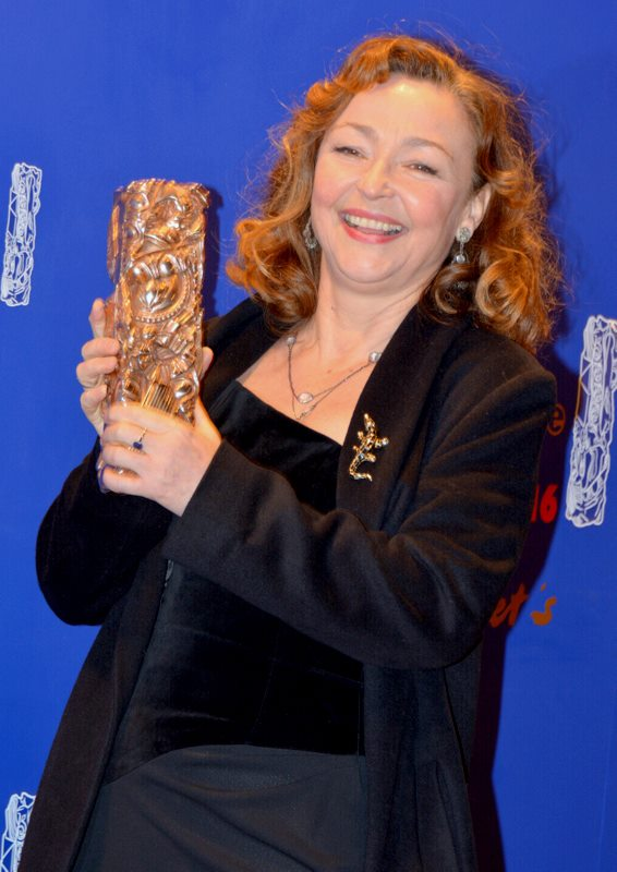Catherine Frot at the César 2016