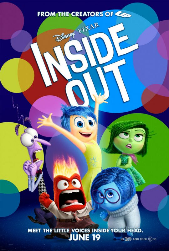 Inside Out won the best animated movie price