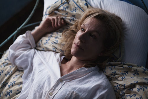 Juliet Stevenson playing Beatrice