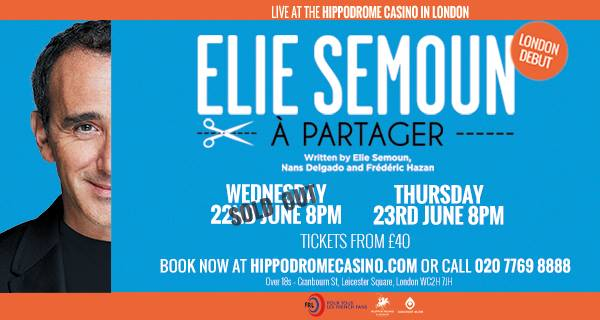 Elie Semoun's show in London