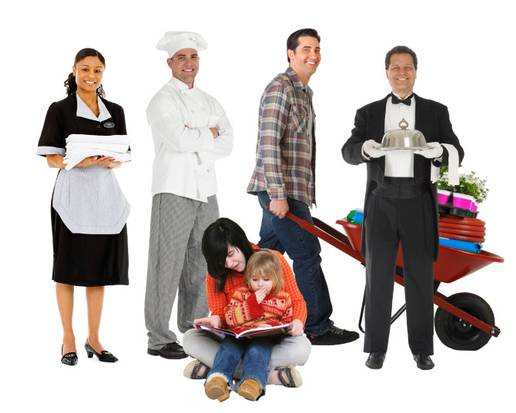 Choose the perfect household staff