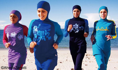 Aheda Zanetti invented the burkini