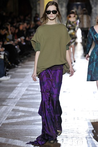 Grunge like you've never seen it before at Dries Van Noten