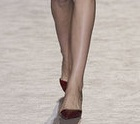 Stella McCartney's red mid-heels