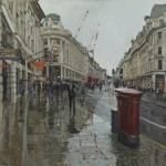 Peter Brown - Regent Street Looking North